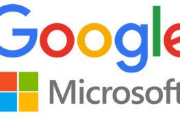 جوجل و ميكروسوفت