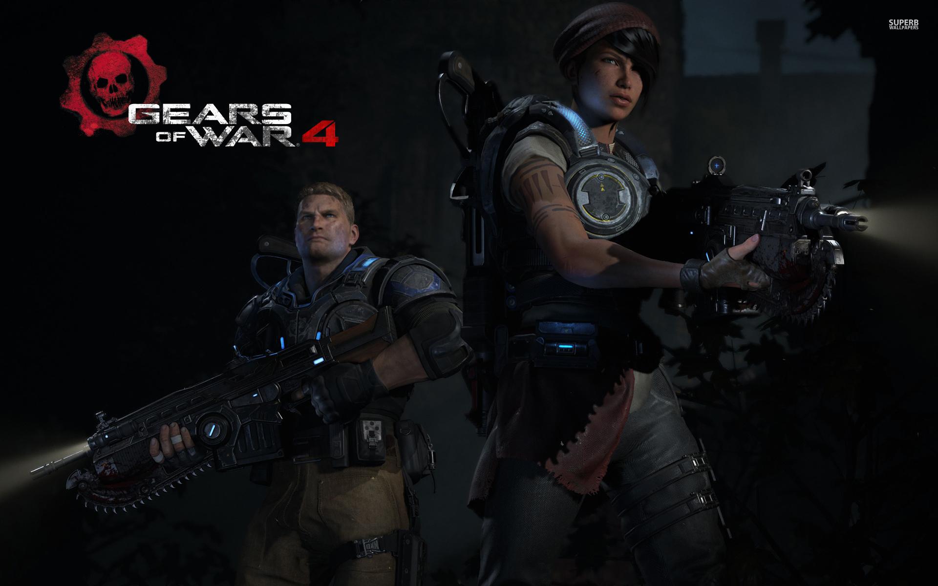 لعبة Gears of War 4