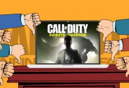 عرض COD: Infinite Warfare يحتل المركز الثانى كأسوا عرض باليوتيوب