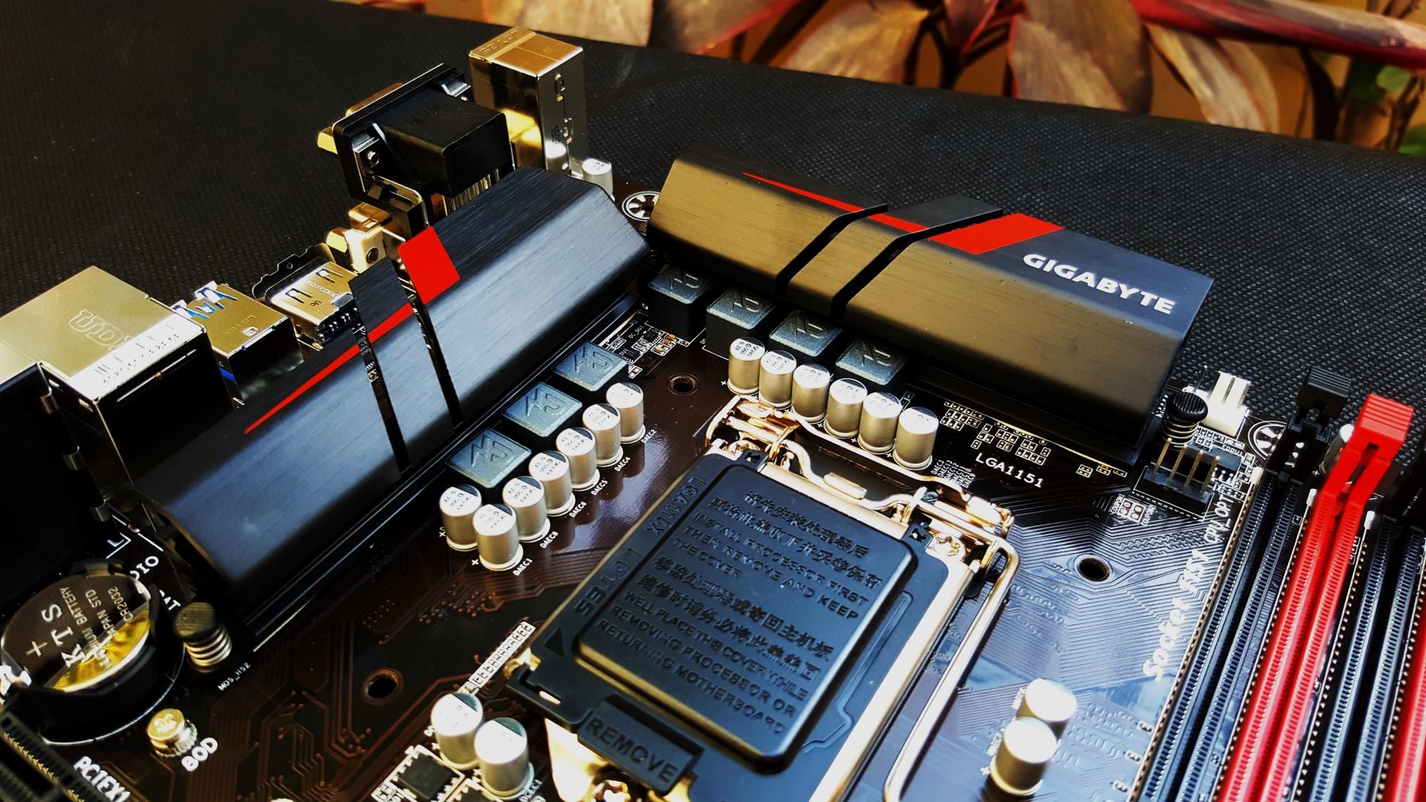 16-Gigabyte H170-Gaming 3 Heatsink