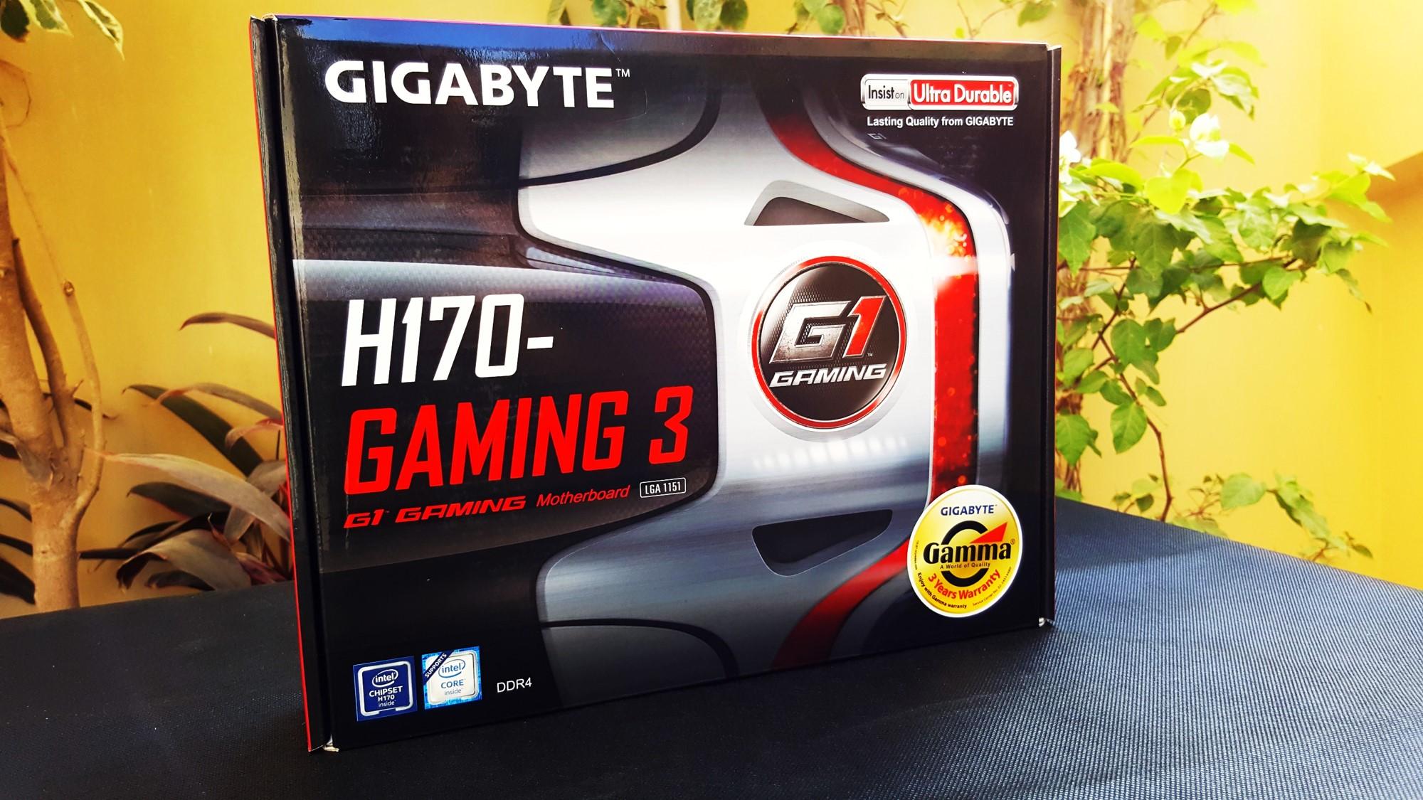 4-Gigabyte H170-Gaming 3 Box Front