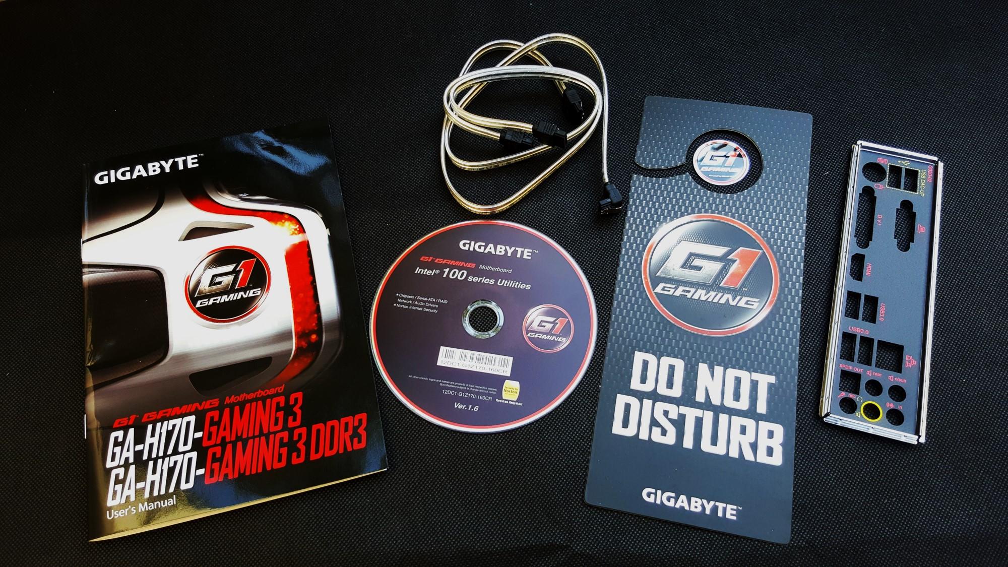 6-Gigabyte H170-Gaming 3 Box inside
