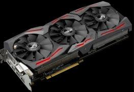 بطاقة ASUS Strix GeForce GTX 1080