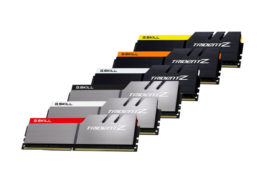 G.SKILL تقدم 3 تشكيلات من ذاكرة Trident Z