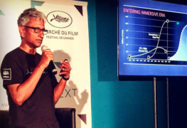 رجاء قدري من AMD يتحدث عن الواقع الافتراضي خلال حفل مهرجان كان