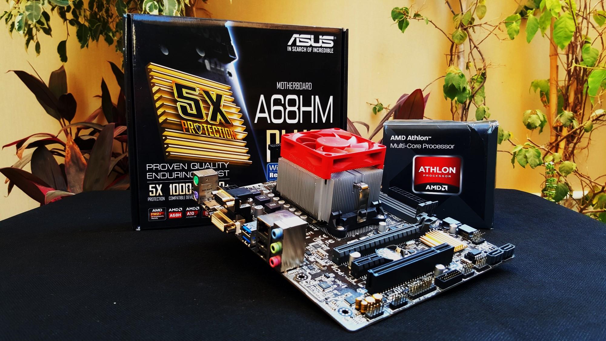 1-AMD Athlon X4 845K