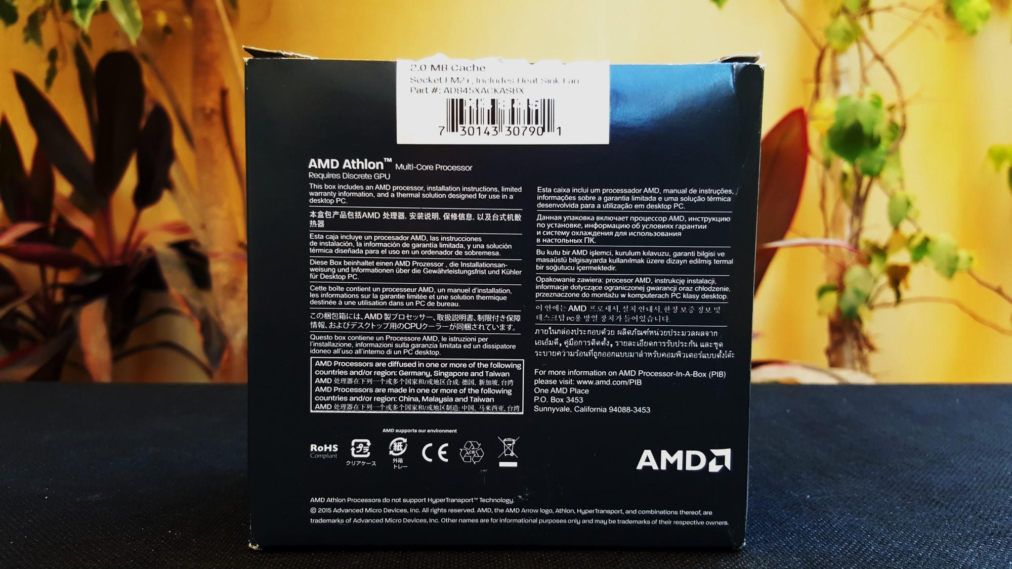 4-AMD Athlon X4 845K