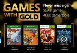 قائمة ألعاب شهر يوليو المجانية لمشتركى خدمة Xbox Live Gold
