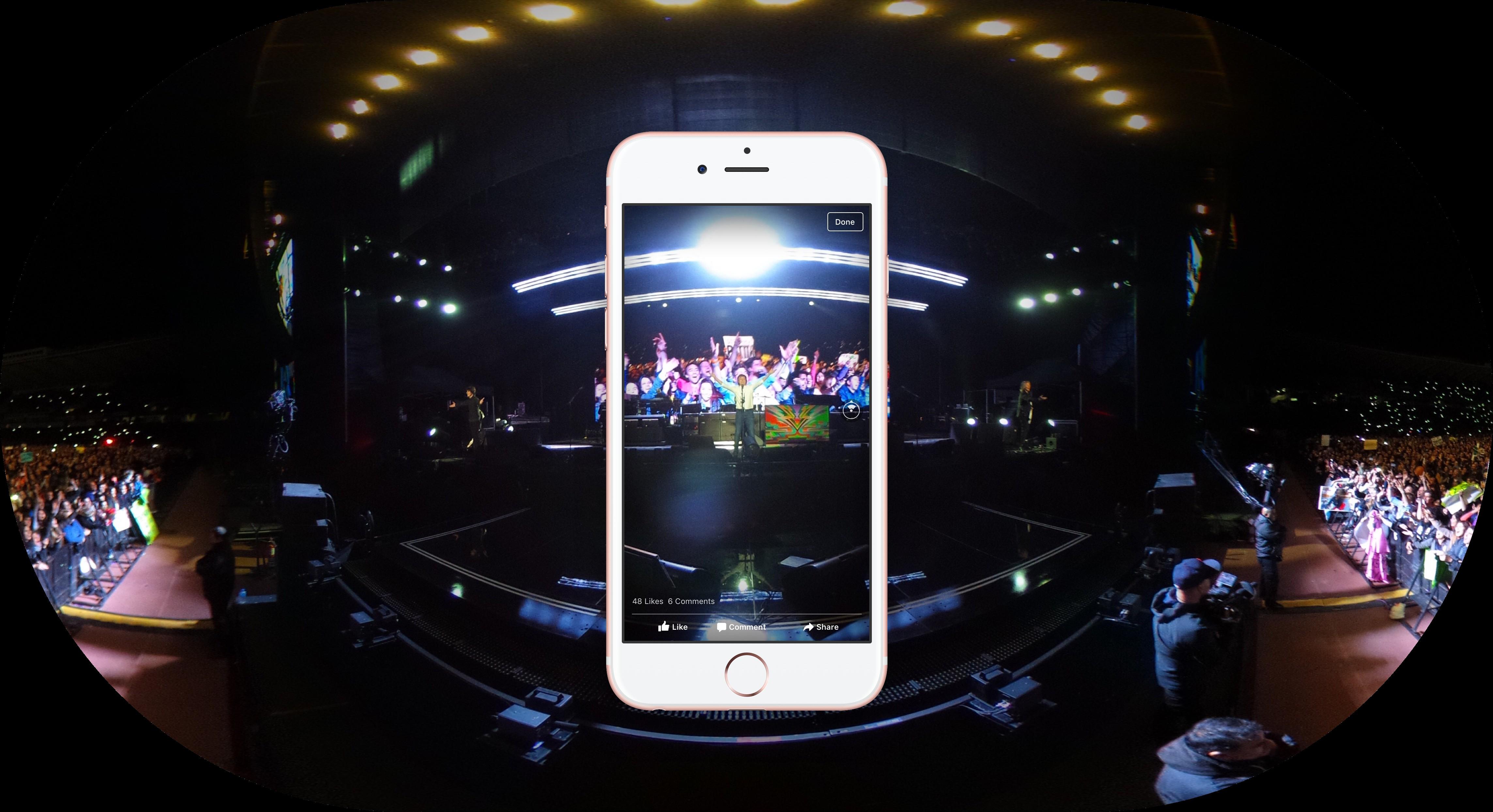 فيسبوك تطلق صور بخاصية 360 درجة