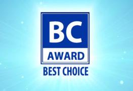 جائزة Best Choice من Computex