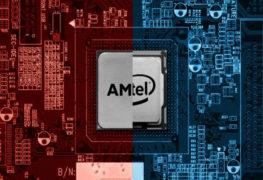 معالجات AMD و إنتل