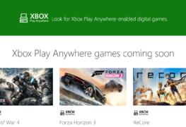 الألعاب الداعمة لخدمة اللعب بأى مكان Play Anywhere على PC & Xbox