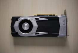 GTX 1060 Founders Edition Front