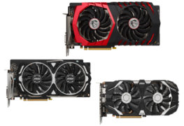بطاقة MSI GeForce GTX 1060 GAMING X 6G: