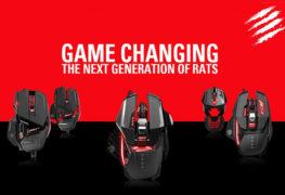 سلسلة ماوس RAT Gaming من Mad Catz