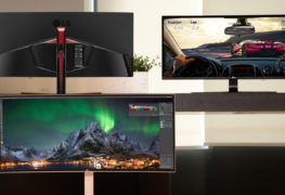 أكبر شاشتين فائقة العرض بالعالم من LG