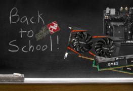 """تجميعة حاسوب """"العودة للمدارس"""" مع بطاقة RX 460"""