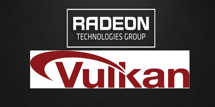 واجهة Vulkan مع بطاقات AMD