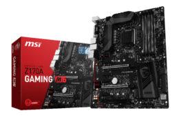 لوحة MSI Z170A Gaming M6