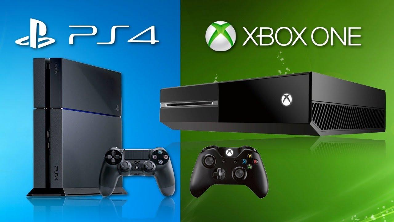 جهاز الكونسول Xbox One و PS4 مقارنة مع جهاز محمول