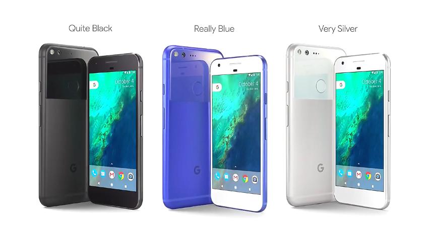 Google Pixel Colors - مؤتمر جوجل