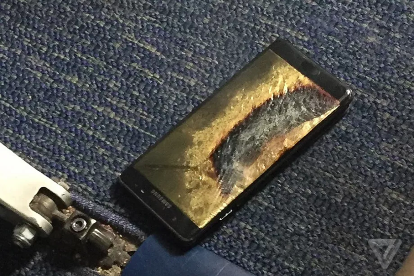 انفجار Note 7