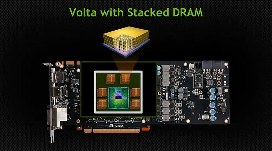 احدى بطاقات معمارية انفيديا Volta ستكون بحجم 48GB!