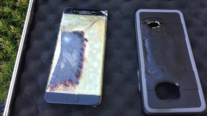 انفجار هاتف نوت 7