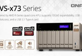 لسلسلة وحدات التخزين الشبكي QNAP TVS-x73 NAS