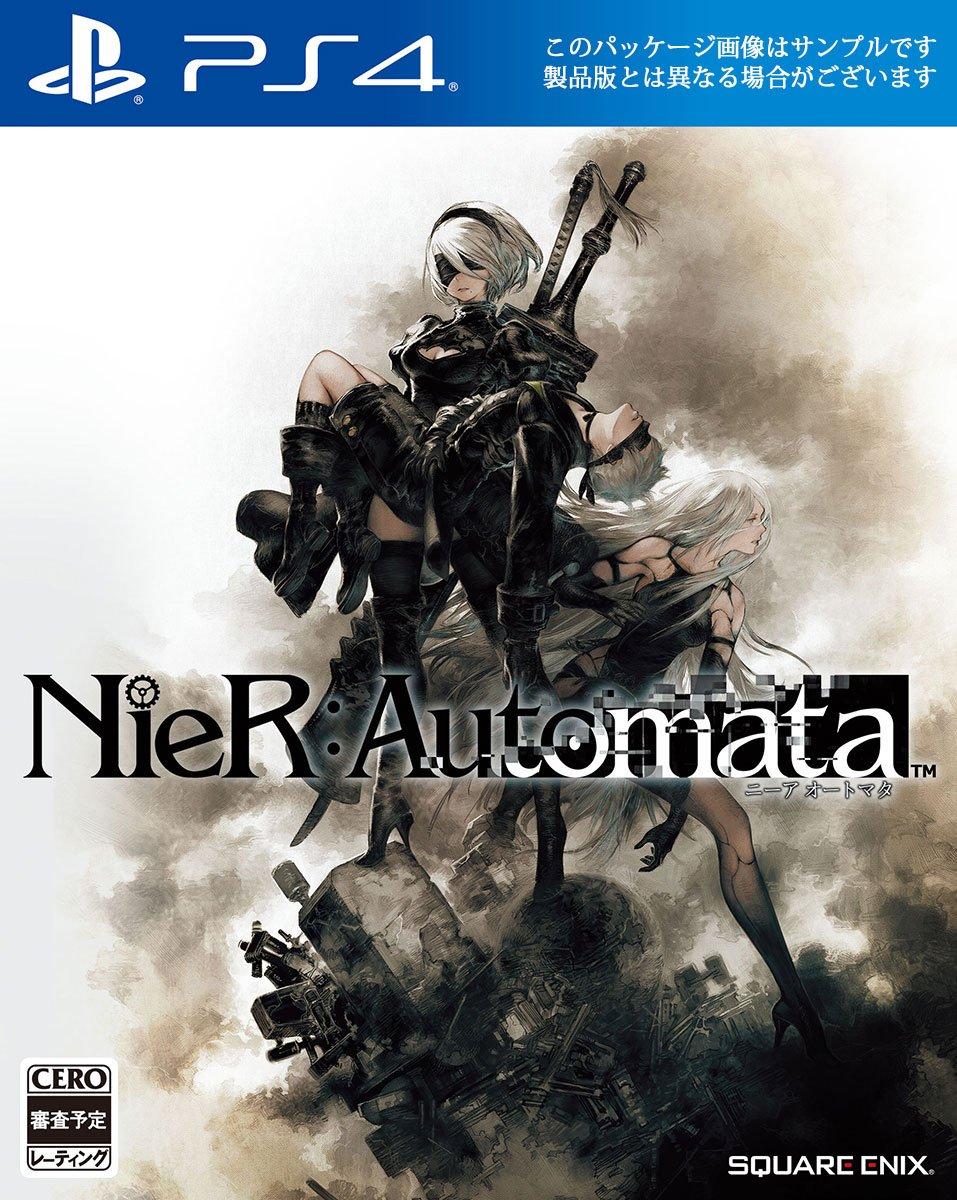 الكشف عن شكل الغلاف الياباني لـ لعبة NieR Automata و شكل الغلاف ممتاز!