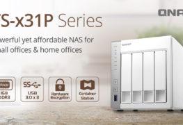سلسلة وحدات QNAP TS-x31P NAS