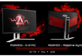 شاشتين من AOC بدقة WQHD