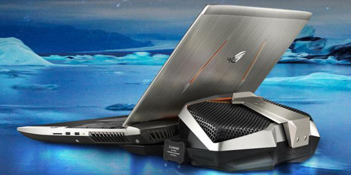المحمول الأقوى ASUS ROG GX800