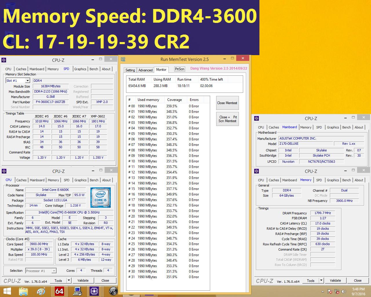 ذاكرة G.SKILL Trident Z DDR4