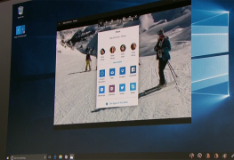 Windows 10 Share UI