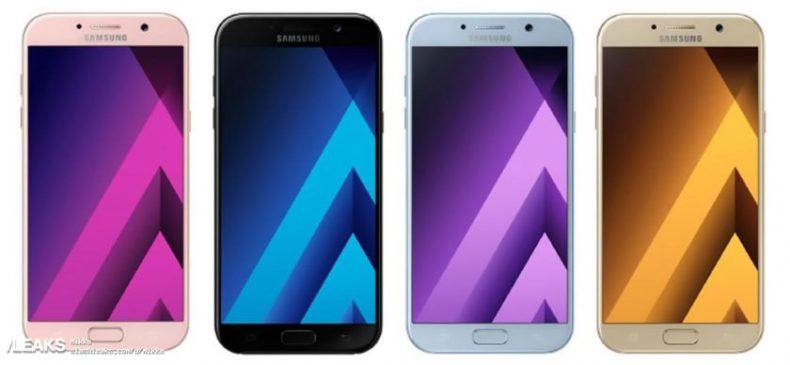 سلسلة Samsung A 2017 سوف تكون مضادة للماء، و ماذا ايضا ؟
