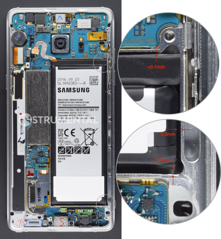 samsung-galaxy-note-7-battery-space-840x906 - نوت 7