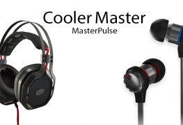 سلسلة سماعات الرأس Cooler Master MasterPulse