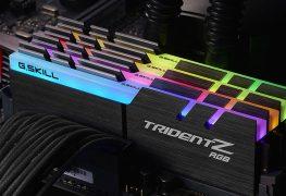 سلسلة ذواكر Trident Z RGB DDR4 من G.SKILL