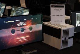 شاهد بطاقة الجيل القادم AMD VEGA تشغل لعبة DOOM بدقة 4K!