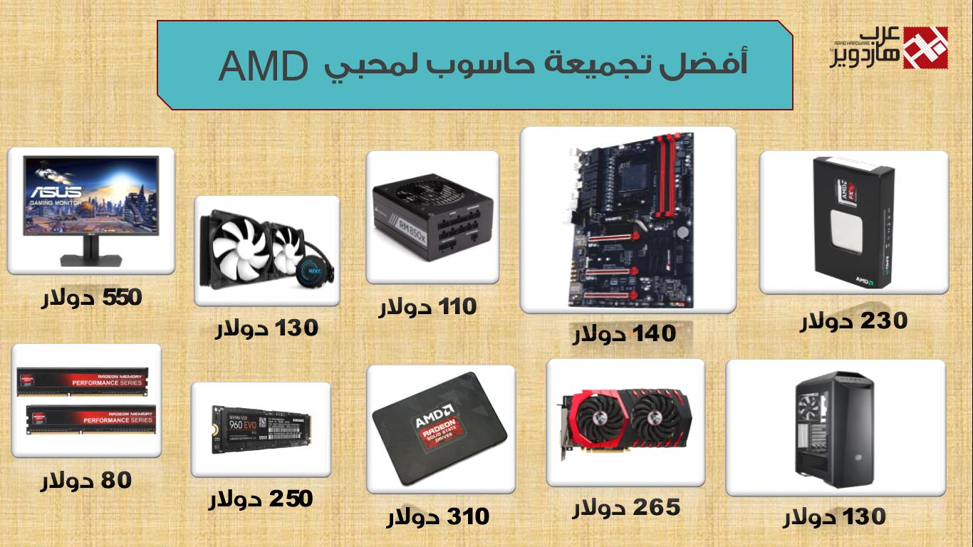 أفضل تجميعة حاسوب لفترة أعياد الميلاد مخصصة لمحبي AMD