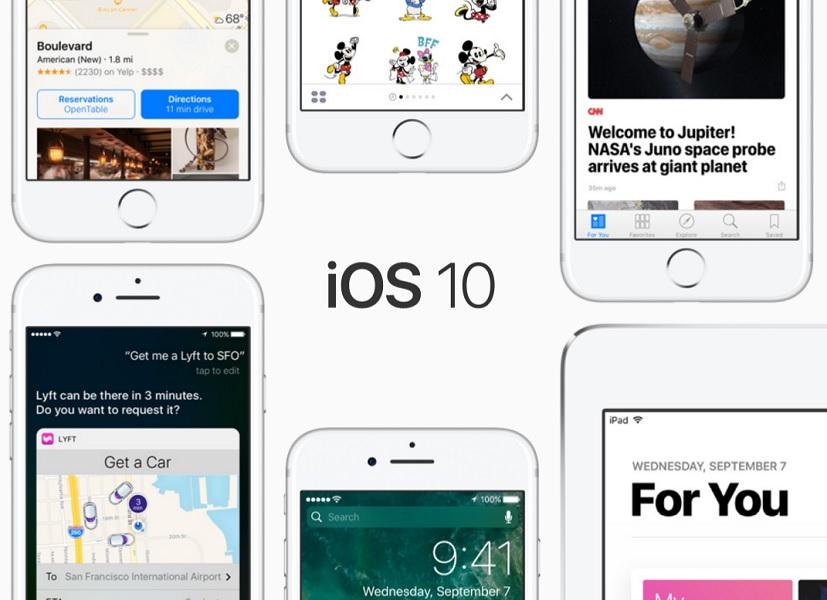 تحديث iOS 10.2