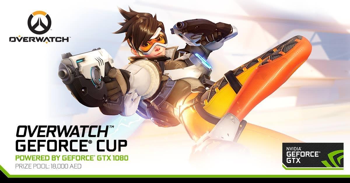 فتح باب التسجيل لمسابقة Overwatch Geforce Cup