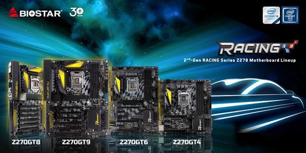 تشكيلة BIOSTAR من لوحات Z270