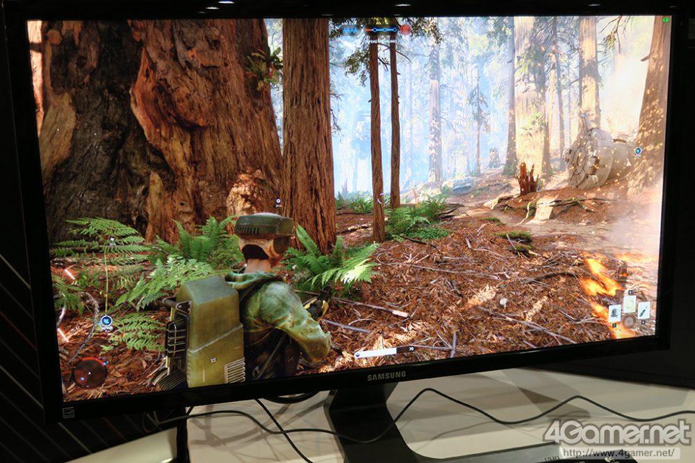 لعبة Star Wars Battlefront تعمل على بطاقة AMD VEGA بدقة 4K