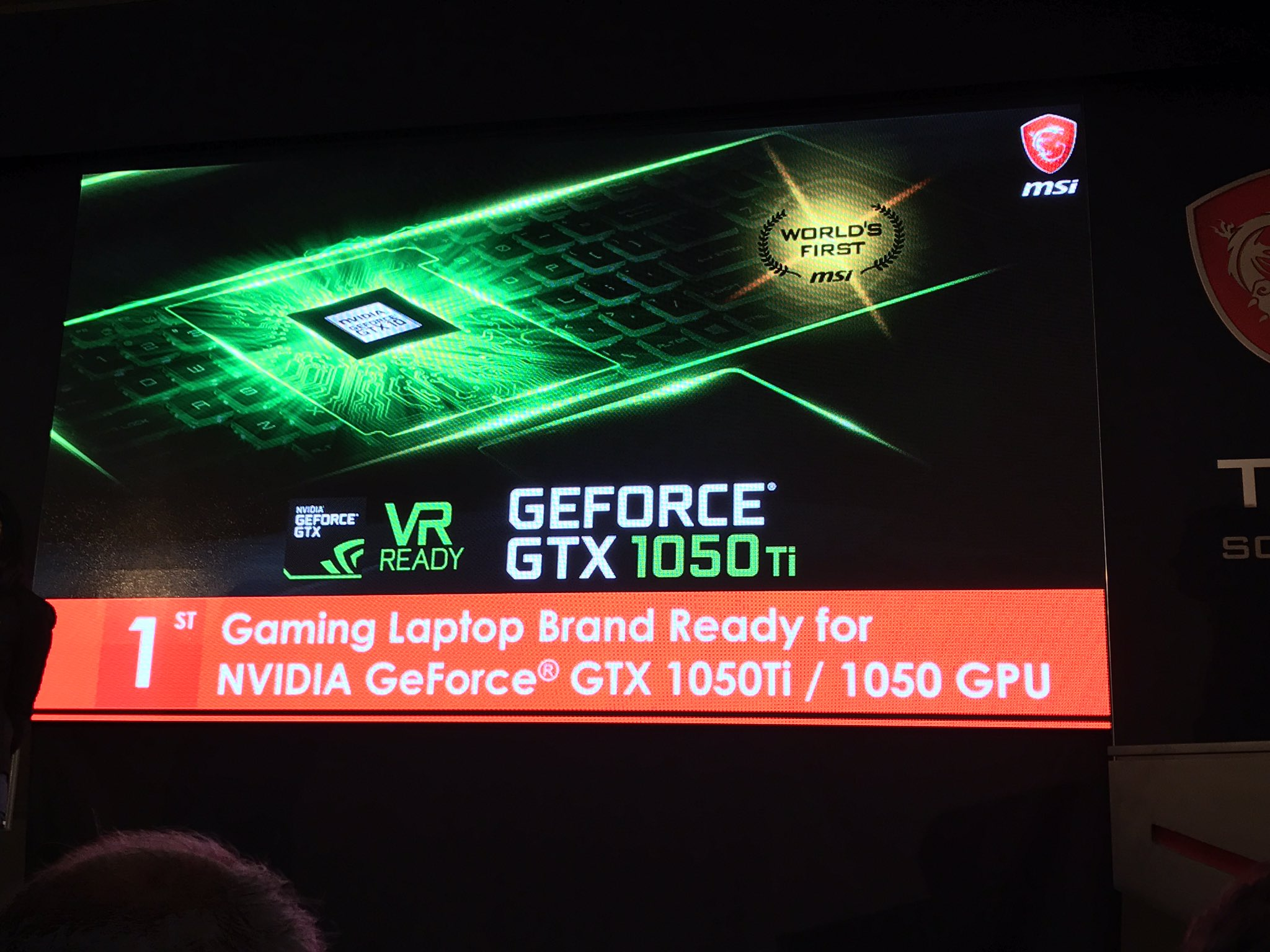 MSi Event at CES 2017