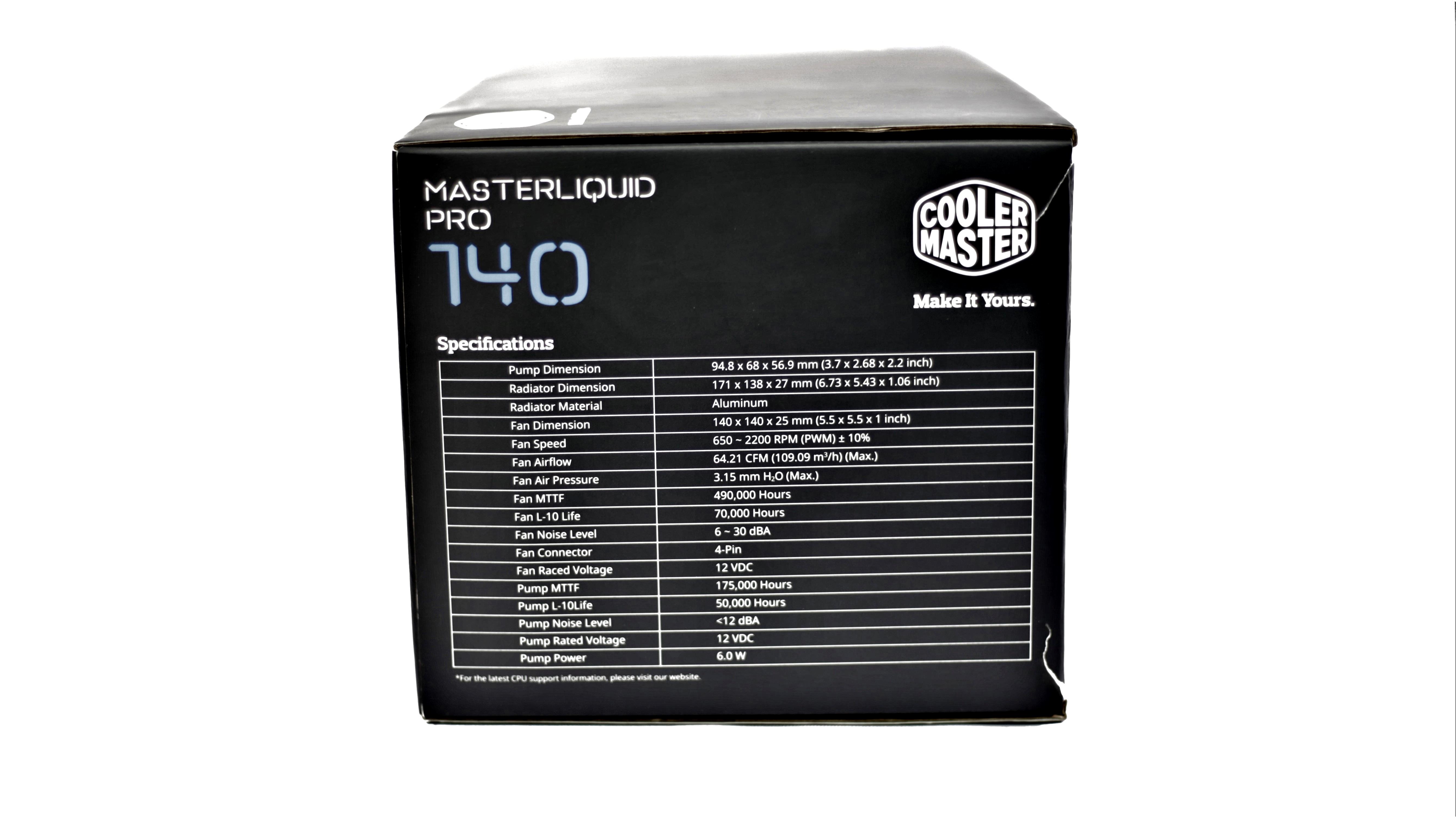 MasterLiquid Pro 140