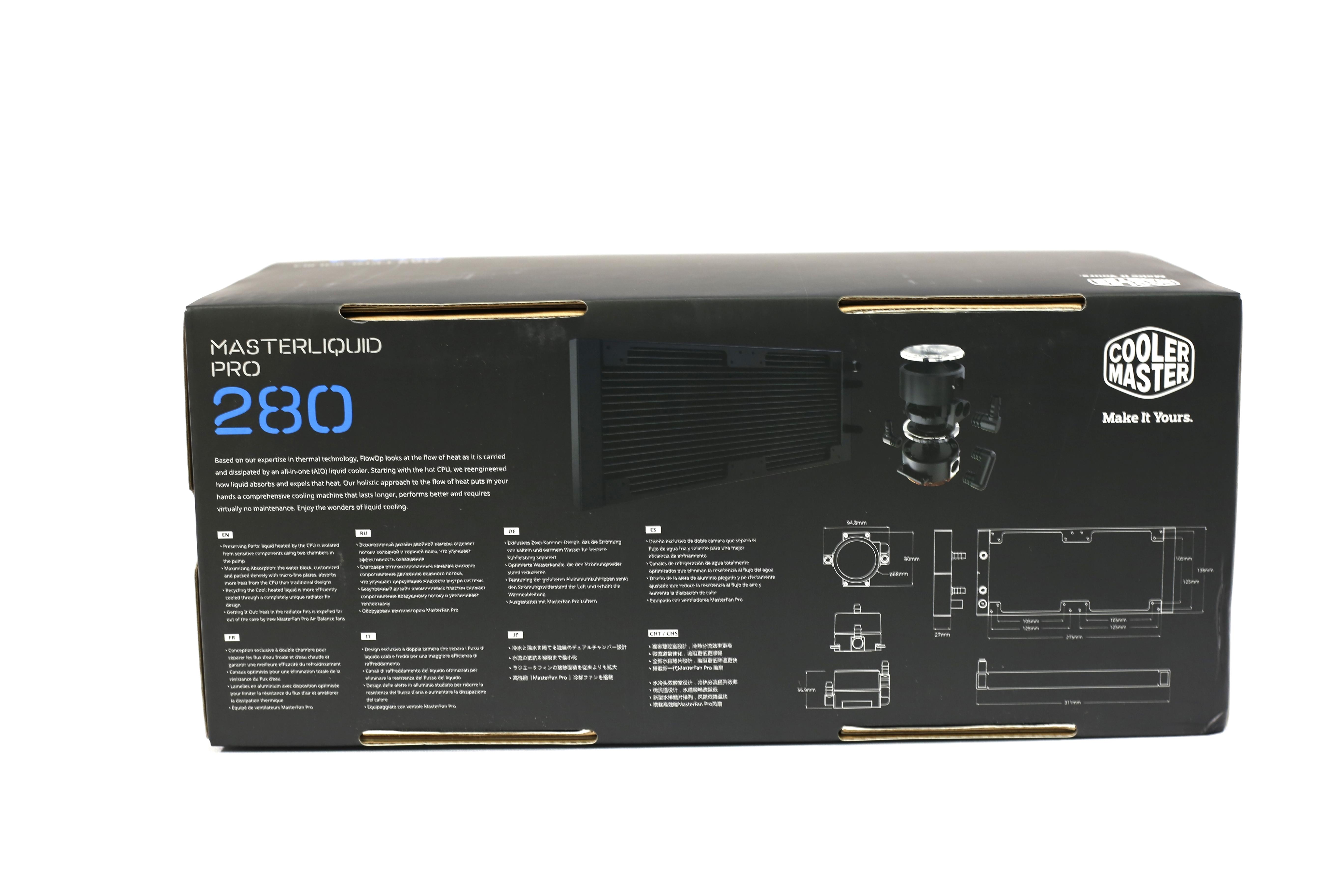 MasterLiquid Pro 280