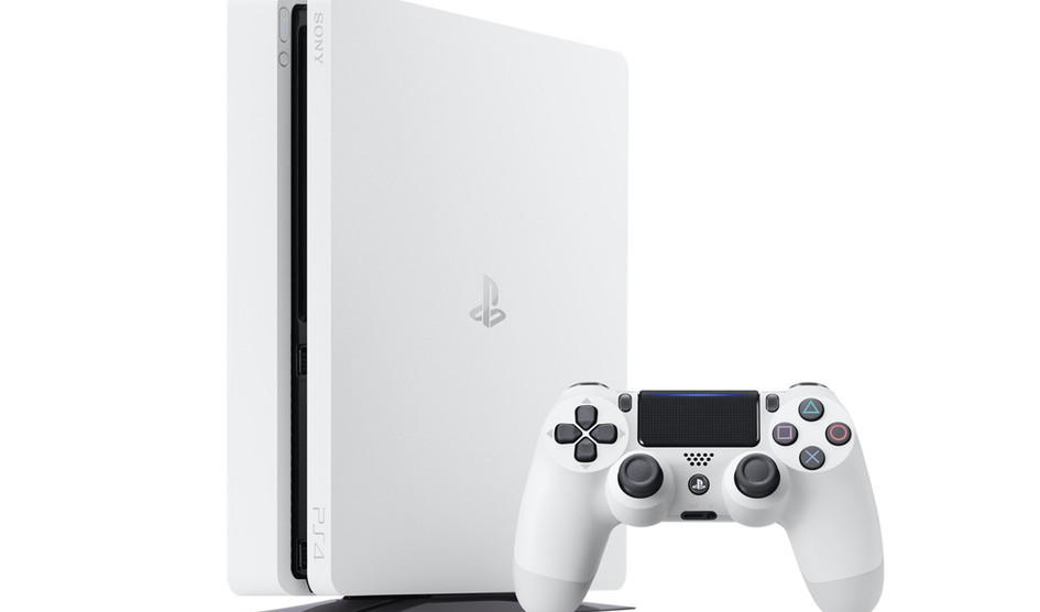 Sony PS4 Slim White