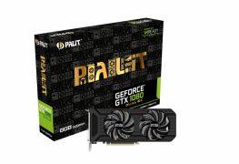 بطاقة GTX 1080 Dual OC الجديدة من Palit